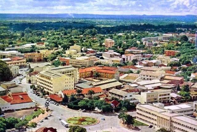Lubumbashi/Elizabethvile, Capital of Katanga, Circa 1960